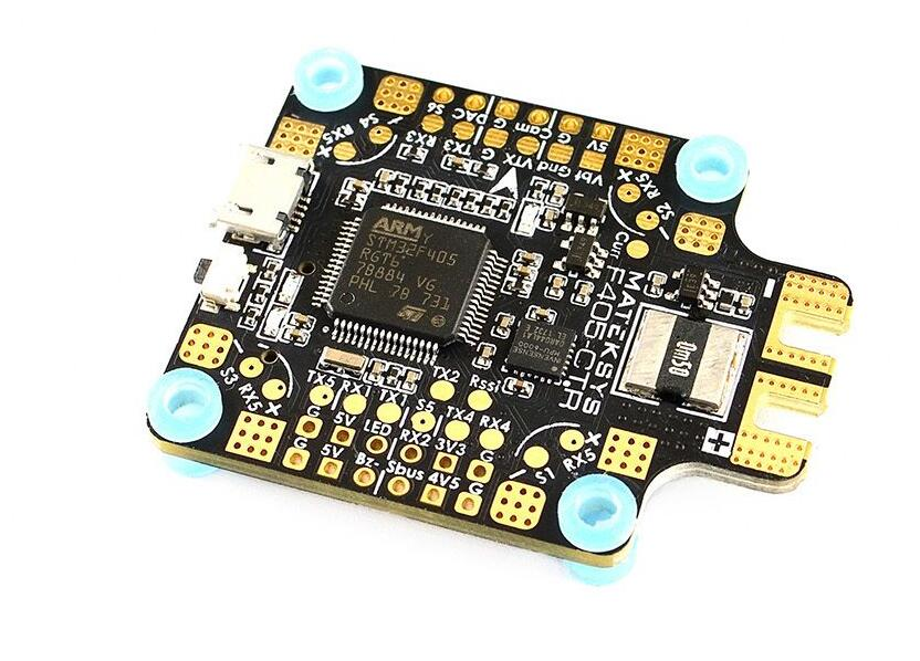 Matek Systems BetaFlight <font><b>F405</b></font>-<font><b>CTR</b></font> <font><b>F405</b></font> <font><b>CTR</b></font> Flight Controller Built-in PDB OSD 5V/2A BEC Current Sensor For RC Multicopter image
