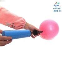 Liberi la nave strumento Mano Air Pump di Gonfiaggio Pompa Grossa Mano gonfiaggio per balloon anello di nuoto yoga sfera di aria materasso gonfiabile giocattolo