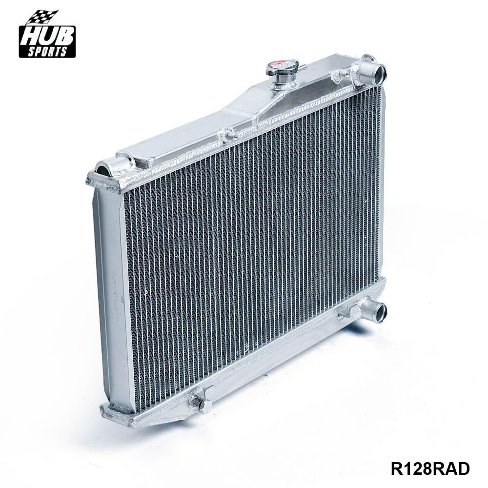 - Aluminum 2 offer Dual Core Aluminum Radiator Manual For Corolla AE86 83-87 HU-R128RAD