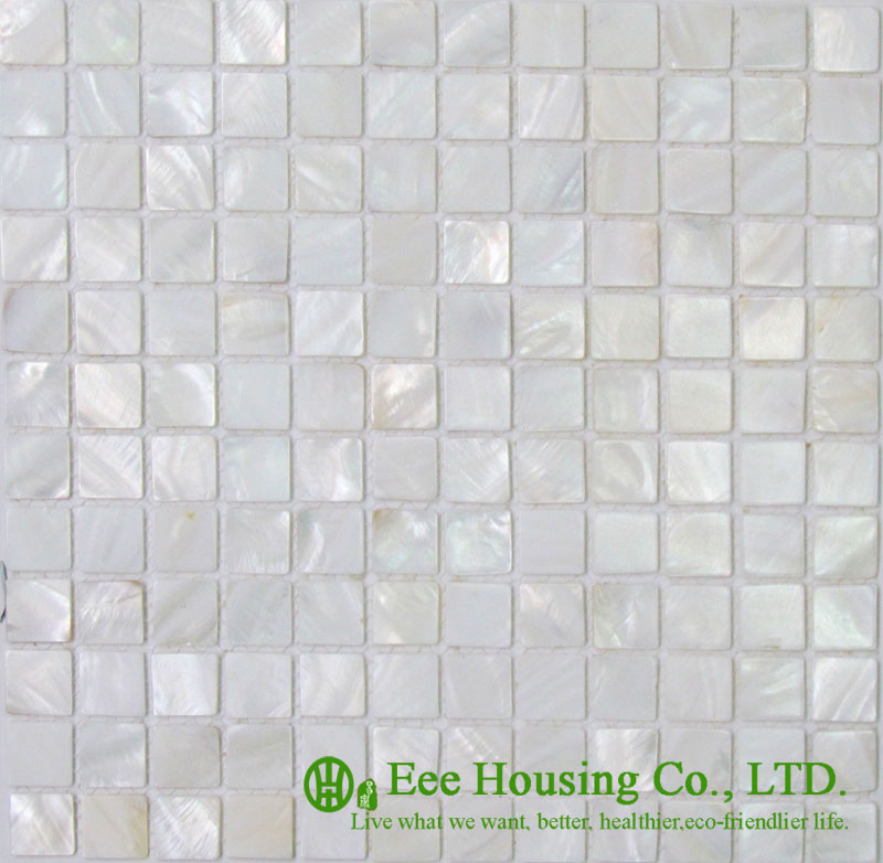 Never Fade Shell Series Mosaic Tile Factory In China For House Decoration, 200mm*200mm / 300mm*300mm