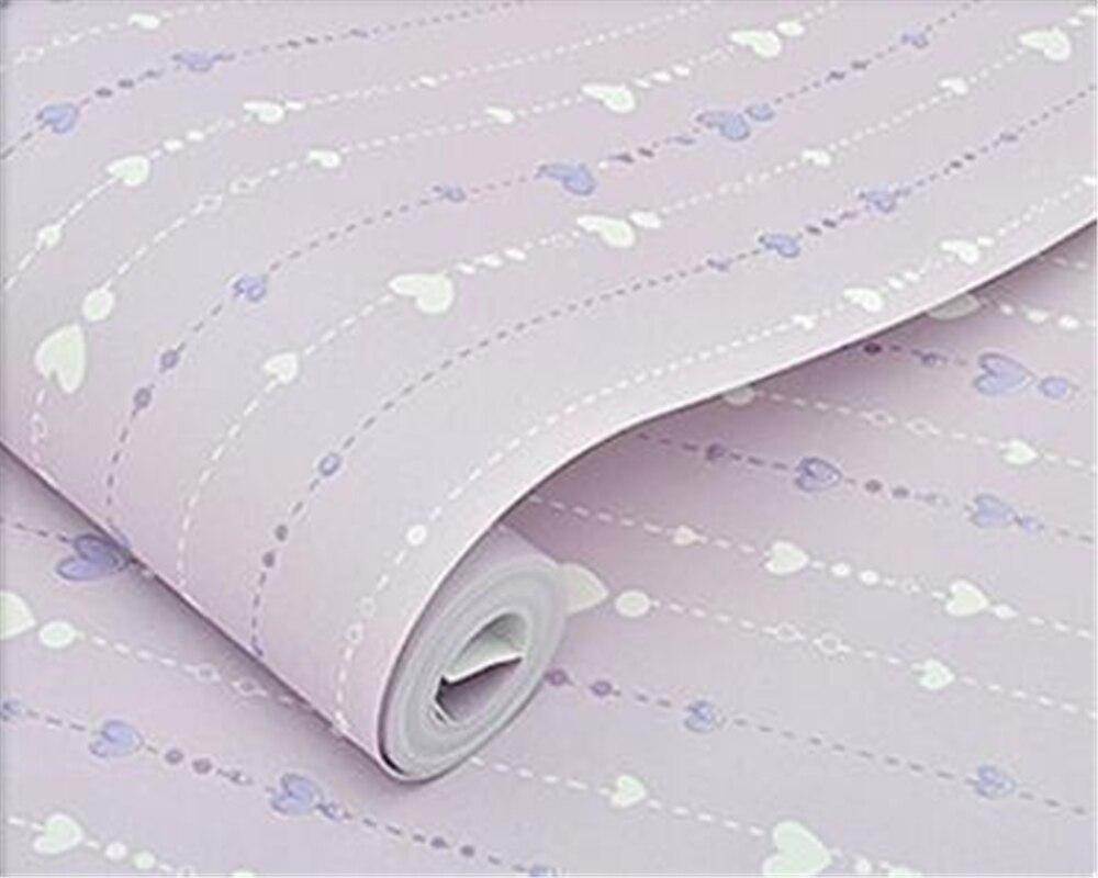Babykamer Behang Sterren : Beibehang moderne behang kinderkamer sterren roze rood paars