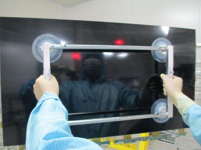 US $185 0 |Stretch LCD sucker  glass suction cup  telescopic LED TV lifts,  hand pressure vacuum tool  Telescopic four sucker 250mm-in Pneumatic Tools