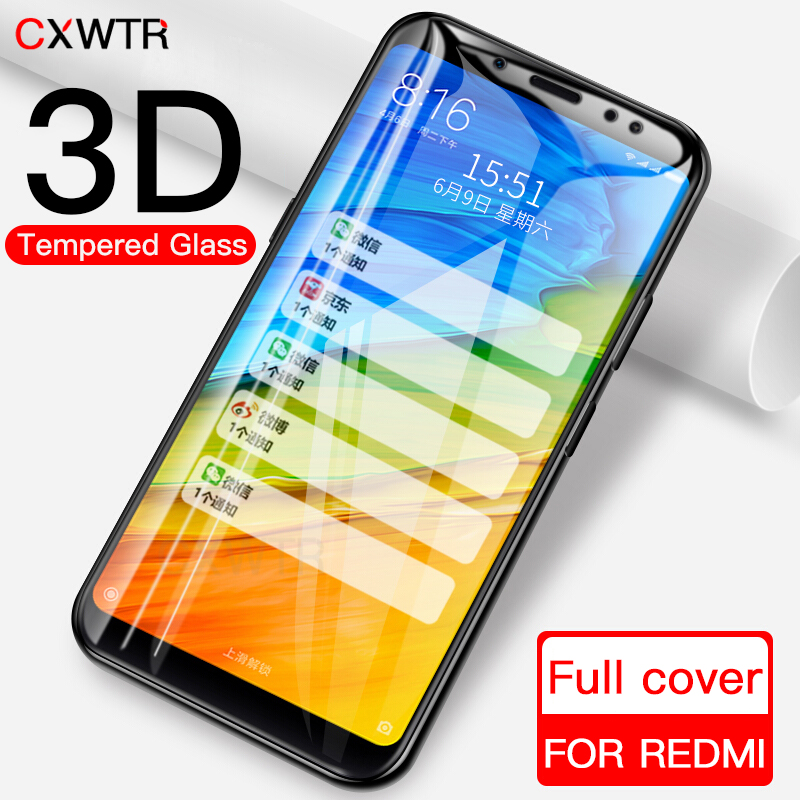 3D Tempered Glass For Xiaomi Redmi 5 Plus 6A 6 Pro 5A Full Cover Screen Protector For Redmi S2 Note 5A Glass Film