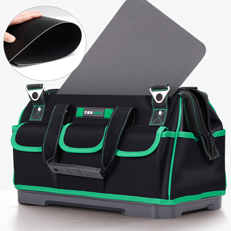 New Upgrade Tool Organizer Thick Waterproof Tools Bag Professional Multifunction Utility Bag Large Capacity Bag for Tools in Tool Bags from Tools
