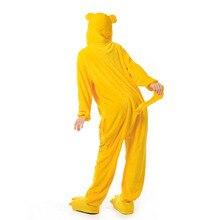 Jake Onesie Kigurumi Yellow Dog Pajama Women Adult Soft Warm Sleepwear Festival Party Outfit  Winter Funny Cartoon Jumpsuit