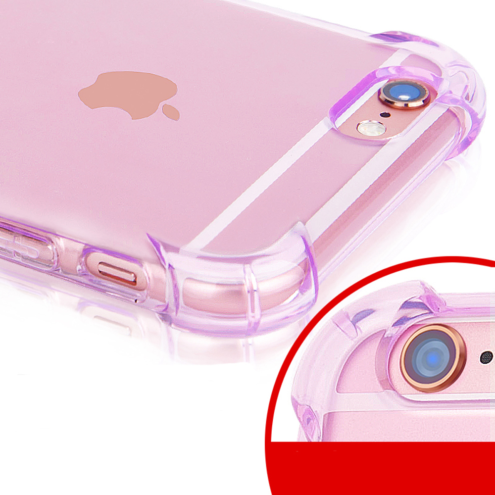 Shockproof Anti Fingerprints Clear Transparent Surrounding Tpu Flower Xiaomi Redmi Note 1 2 Silicone Diamond Soft Case Softcase Reinforced Protective For Iphone 6s Plus Fundas Coque