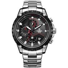 Marca de lujo de Relojes Deportivos Hombres Encanto Fresco Moda Luminoso relogio masculino cuarzo wirst reloj resistente al agua 100 m # CASIMA 8203