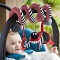 Nova Multifuncional Bebê Crianças Carrinho De Bebê Carro Pendurado Brinquedos Cama Berço BB Sino do Anel Chocalhos de Bebê Brinquedo de Pelúcia