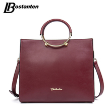 BOSTANTEN New Famous Brand Women Bag England Style Top-Handle Bags Sequined Female Shoulder Bags Simple Lady Crossbody Bag Totes