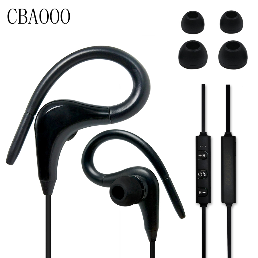 Bluetooth Earphone Bass Headset with Microphone for Mobile Phones iPhone Stereo Earbuds Earpods Air qkz c6 sport earphone running earphones waterproof mobile headset with microphone stereo mp3 earhook w1 for mp3 smart phones