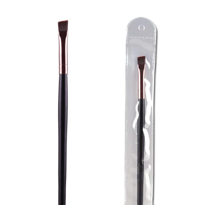 все цены на 1 Piece Brand New Eyebrow Brush Eye Shadow Brush Eye Brow Lips Brush Makeup Nasal Movies Maquiagem Make up Cosmetic Tool онлайн