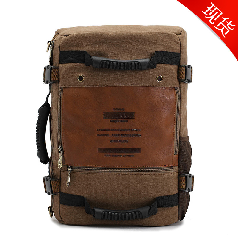 Fashionable Casual Canvas Backpack Shoulder Bags Travel Bag Large Capacity Backpacks Man Bags School Backpack oxford bag korean version of the female students shoulder bag large capacity backpack canvas backpacks