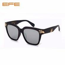 617badf56f EFE cuadrado Vintage marca diseñador hombres gafas de sol dedo esqueleto  mujeres gafas de sol espejo lente recubrimiento gafas 5.
