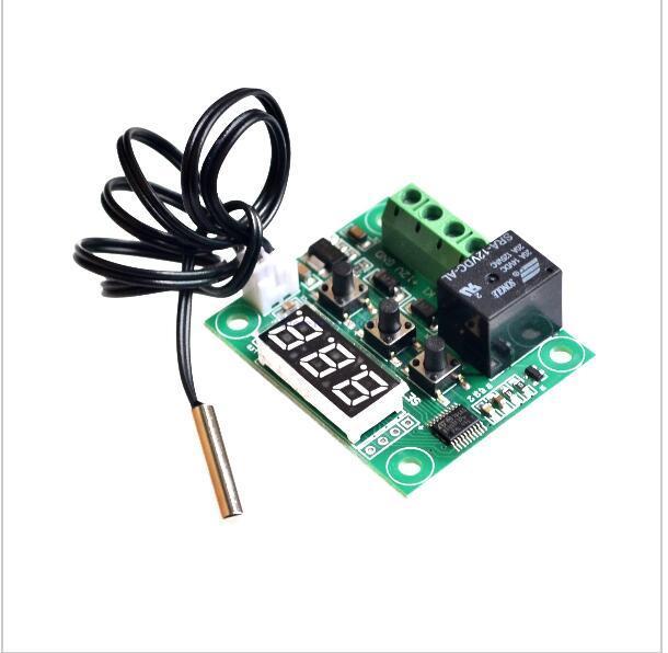 10 PCS W1209 DC 12 V calor temperatura fria termostato switch controle de temperatura controlador de temperatura termômetro controlador thermo