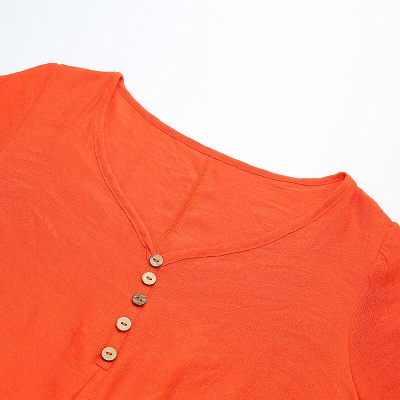 EaseHut Vintage Women Casual Loose Dress Solid Long Sleeve Boho Ethnic Autumn Long Maxi Dresses Plus Size Retro vestido mujer 13