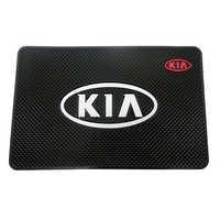 Alfombrilla de coche auto interior salpicadero teléfono moneda gel almohadillas fijo doble cara coche alfombrilla antideslizante para KIA Cerato Sportage R K2 K3 K5