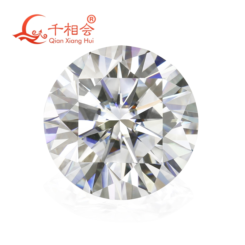 6 5mm DF color white Round Brilliant cut moissanites loose stone with NGSTC certificate