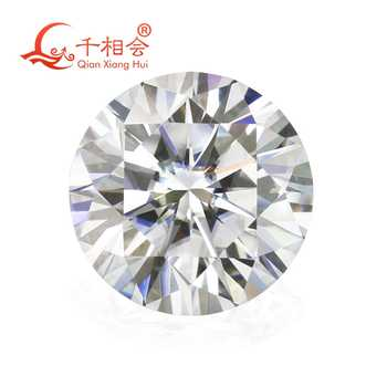 6.5mm DF  color white Round Brilliant cut moissanites loose stone with NGSTC certificate - DISCOUNT ITEM  10% OFF All Category
