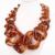 Collar de cadena de Cadena de Joyería de moda collar del traje Grande de color Leopardo