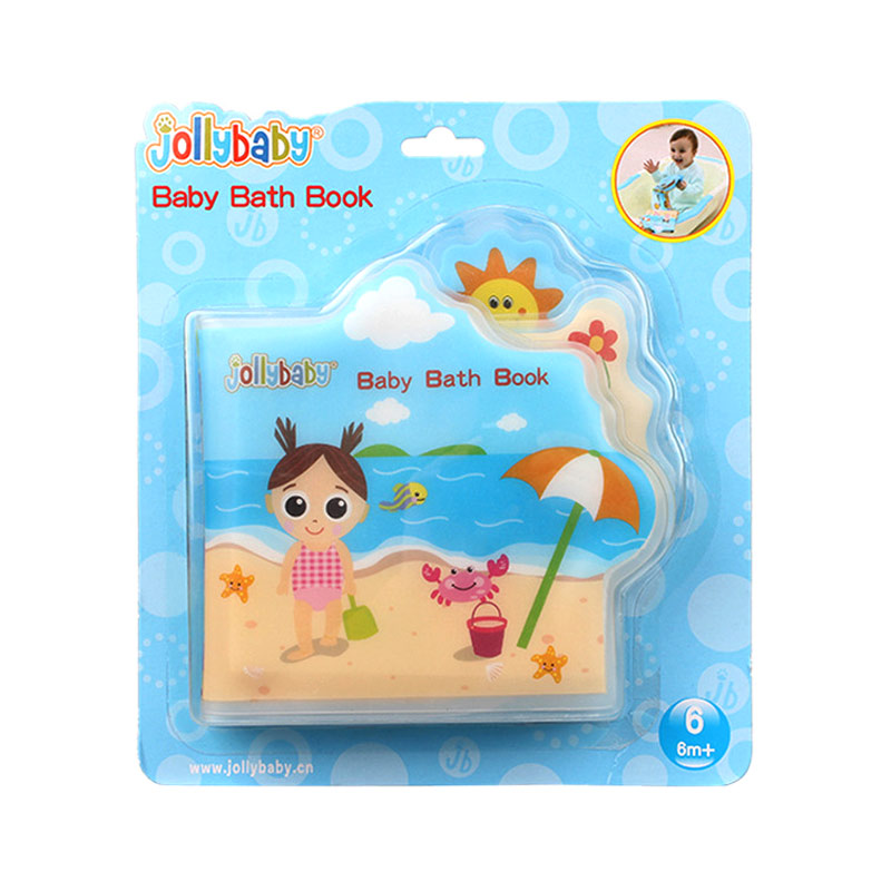 Classic Toys Waterproof Baby Bath Book For Kid Playing Bath Toys Learning Animal Speaker Books Undersea World Early Childhood Education Toys Comfortable Feel Bath Toy