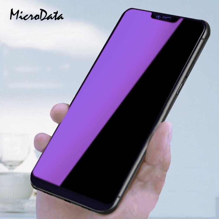 MicroData For Huawei Honor 8X 8C Anti Blue Tempered Glass For Huawei Honor 8x 8c Full