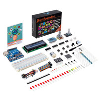 SunFounder Project Super Starter Kit for Arduino UNO R3 Electronic Diy Kit For Arduino UNO with Instructions Book