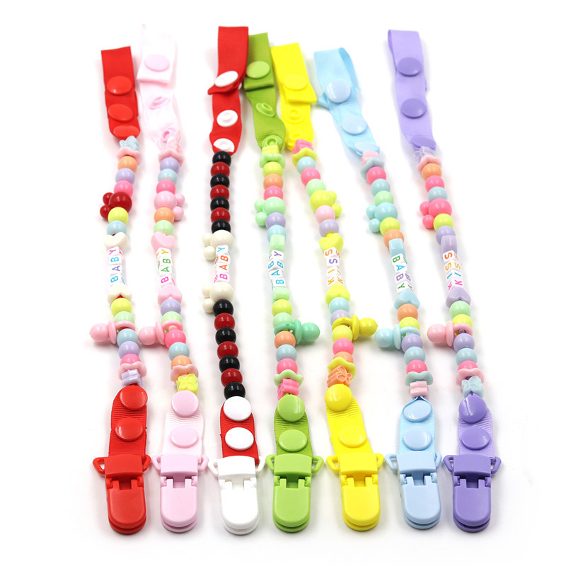 Baby Pacifier Clip Chain New Born Dummy Pacifier Chain Clip Holder Pacifiers Leashes Nipple Dummy HolderBaby Pacifier Clip Chain New Born Dummy Pacifier Chain Clip Holder Pacifiers Leashes Nipple Dummy Holder