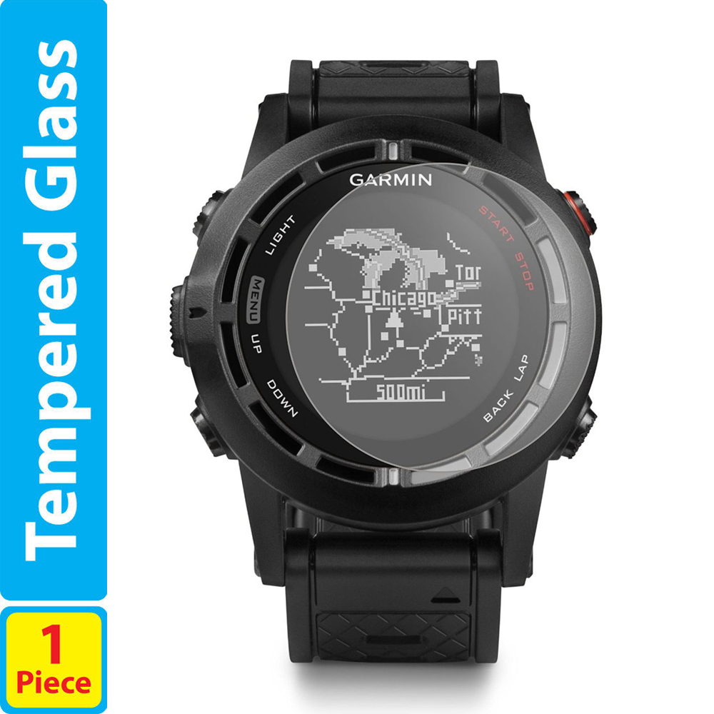 9H Tempered Glass LCD Screen Protector Shield Film for Garmin Fenix2 - Mobile Phone Accessories and Parts - Photo 1