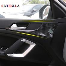 Автомобильная крышка внутренней дверной ручки для peugeot 308 308s 408- дверная чаша рамка отделка наклейки аксессуары украшение интерьера