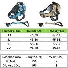 Large Dog Harness K9 leashes set
