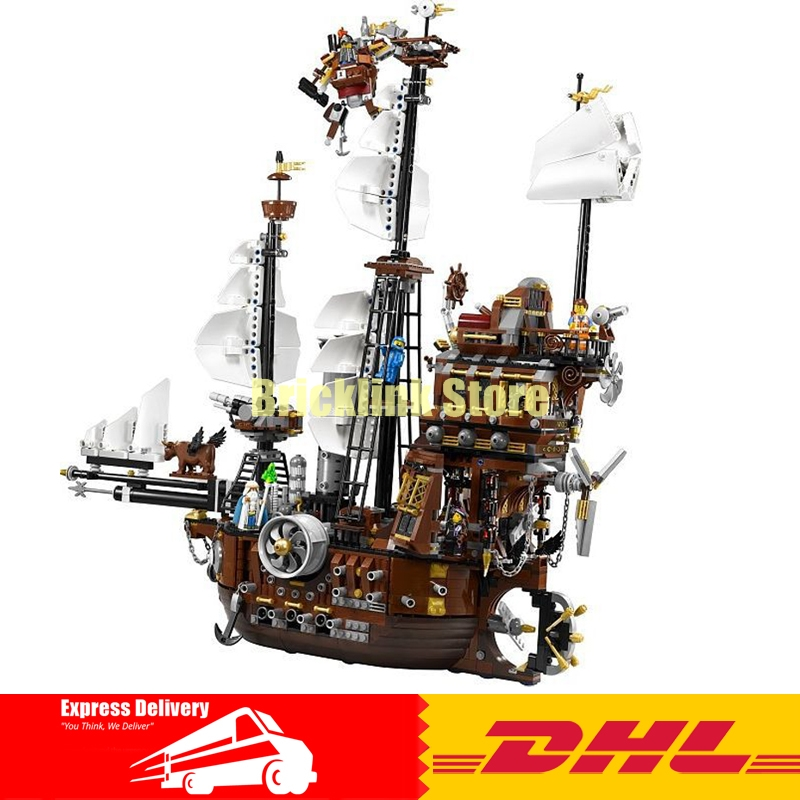 DHL LEPIN 16002 2791Pcs Pirate Ship MetalBeard's Sea Cow Model Building Kits Blocks Bricks Compatible legoed 10708 Toys lepin 16002 pirate ship metal beard s sea cow model building kit block 2791pcs bricks compatible with legoe caribbean 70810