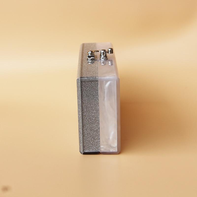 Caja de acrílico bolso de embrague de las mujeres pequeña bolsa de - Bolsos - foto 3