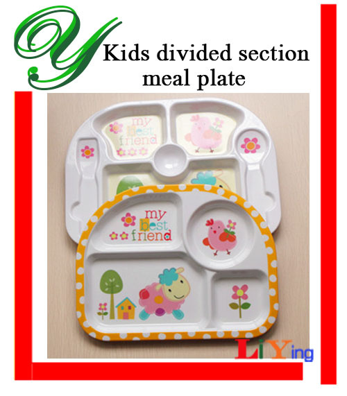 2 set cartoon ided section dinner plates baby feeding plate food dishes eating meal melamine dinnerware  sc 1 st  AliExpress.com & 2 set cartoon ided section dinner plates baby feeding plate food ...