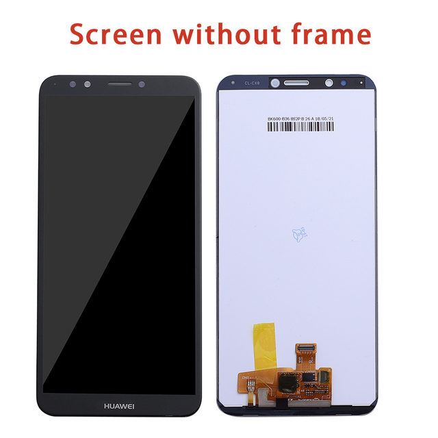 For HUAWEI Y7 2018 LCD Display Touch Screen For Huawei Y7 Pro 2018 LCD With Frame Y7 Prime 2018  LND L22 LX2 L21 L23 LX1 L29