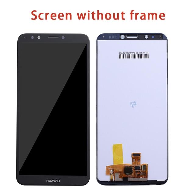 Per HUAWEI Y7 2018 Display LCD Dello Schermo di Tocco Per Huawei Y7 Pro 2018 LCD Con Cornice Y7 Prime 2018 LND l22 LX2 L21 L23 LX1 L29