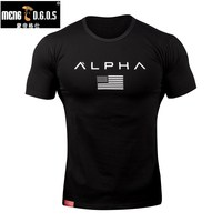 2017O Neck CottonT Shirt Stadium Shark Stringer Man Body Engineers Bodybuilding And Fitness Crime Short Sleeve