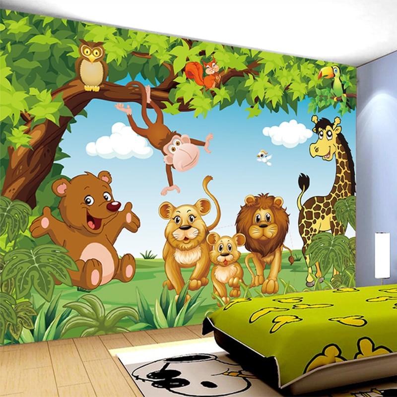 Cute Little Fairy Wallpapers Aliexpress Com Buy Cartoon Animation Child Room Wall