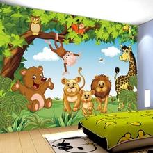 Cartoon Animation child room wall mural for kids room boy/girl bedroom wallpapers 3D mural wallpaper custom any size цена 2017