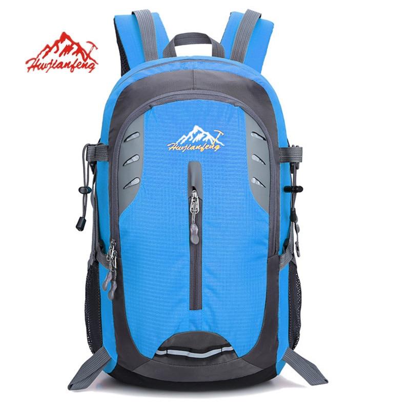 Новий альпіністський рюкзак Жіночі чоловіки Водонепроникний нейлоновий рюкзак для дорожнього руху Mochila жіночі дорожні сумки