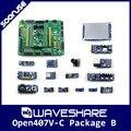 Waveshare Open407V-C Pack B STM32F407VET6 STM32F407 ARM Cortex-M4 STM32 макетная плата + 14 модулей