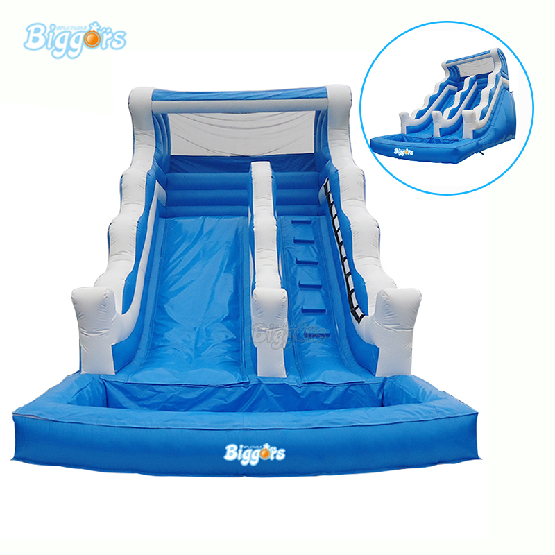 Hot Selling Inflatable Water Pool Slide Inflatable Bounce Slide Pool Backyard Inflatable Water Slide commercial inflatable slide with big pool giant inflatable water slide inflatable pool slide