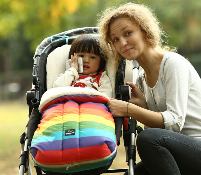 2016 HOT  Thick Warm Baby Stroller Sleep Bag Toddlers Winter & Autumn Envelope Blanket Toddler Footmuff For Wheelchair