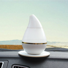 7 Color 200ml Led Ultrasonic Home Aroma USB Humidifier Air Diffuser Purifier Lonizer Atomizer for bmw e46 e90 ford focus 2 vw(China)