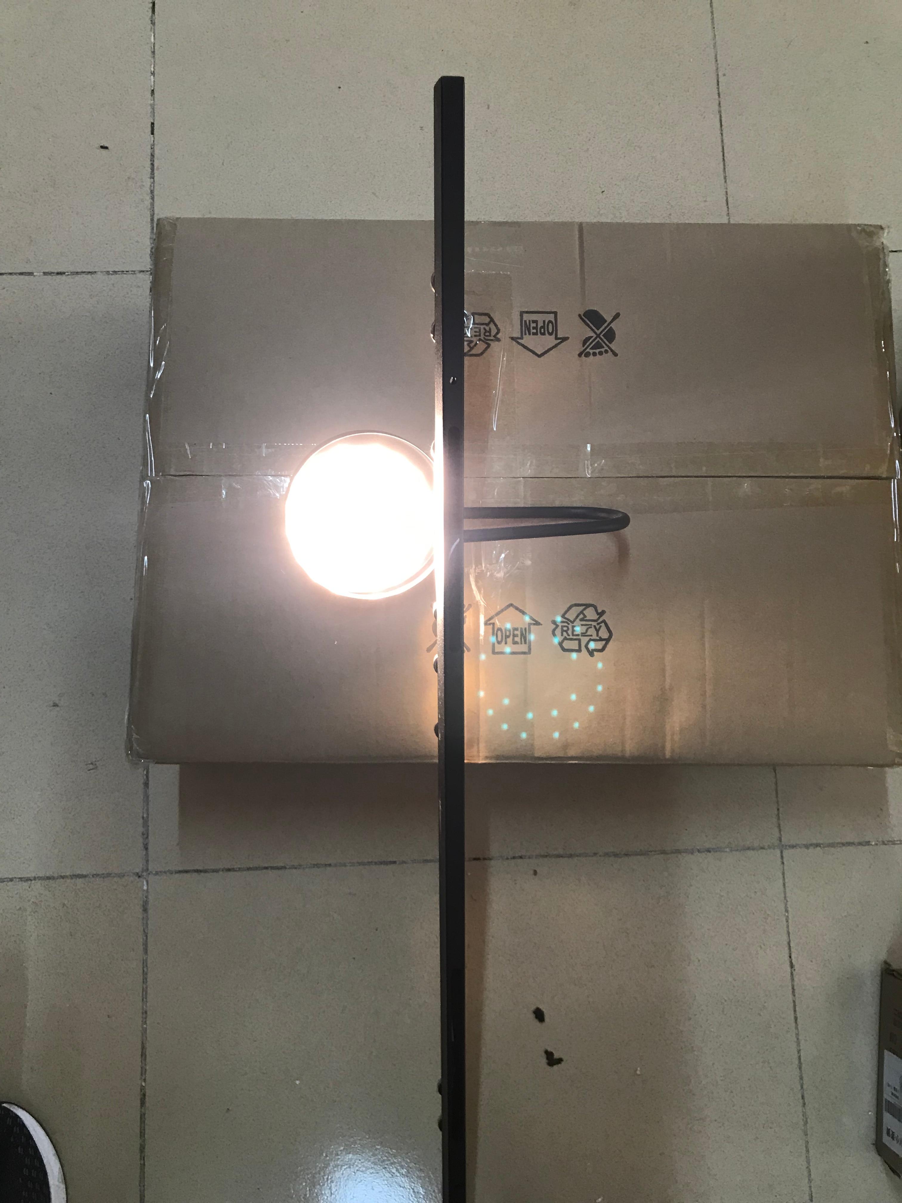 Креативный красочный прикроватный светодиодный настенный светильник для гостиной, настенный светильник для столовой, бра, арт деко, разъем 220 В, магнитная пластина, свободно регулируется - 6