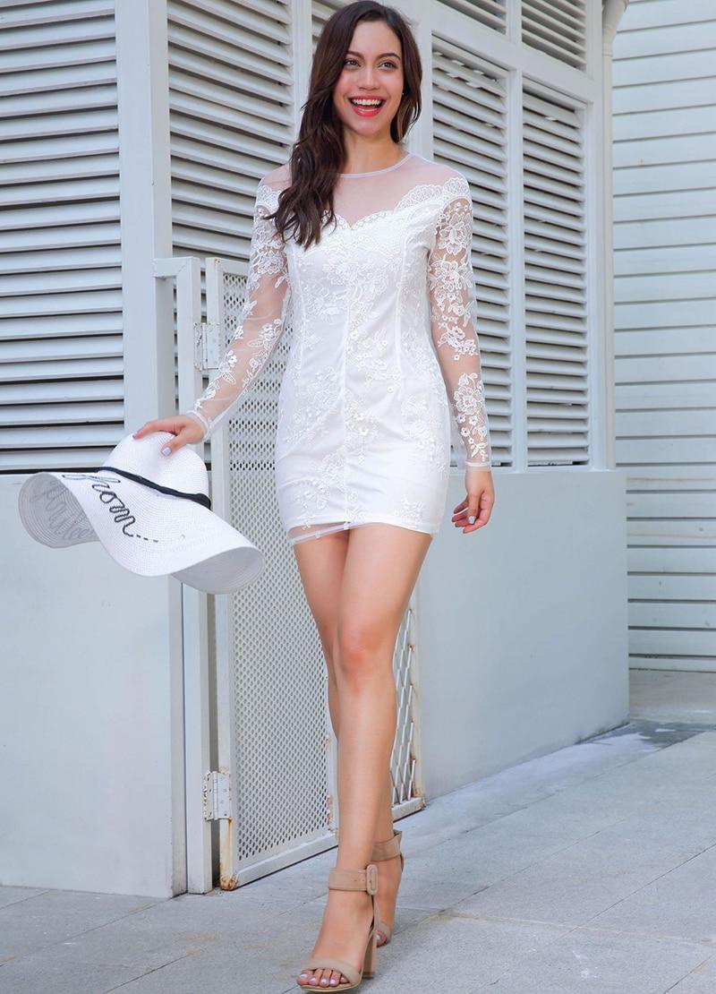 Comfortable Party Dresses White Gallery - Wedding Ideas - memiocall.com