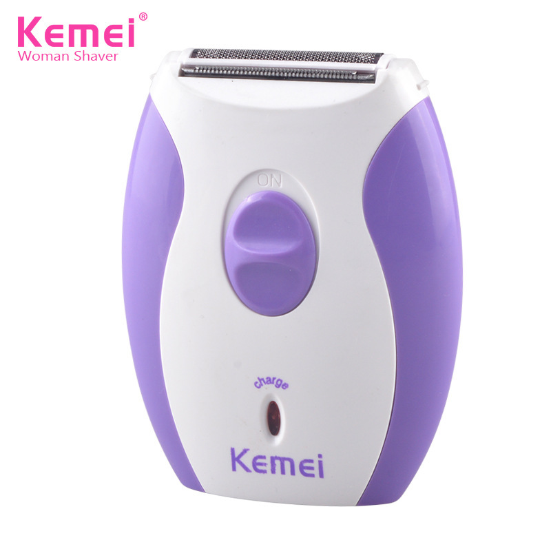 KEMEI Mini Female Electric Epilator Rechargeable Lady Shaver for Leg Underarm Face Hair Removal Shaving Machine Skin Care Tools стоимость