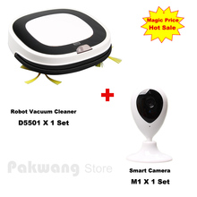 2017 Smart Camera Baby Monitor And Most Advanced Vacuum Cleaner Robot D5501 Wet and Dry Mop Washing Vacuum Cleaner