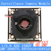 2.0MP 2000TVL 1920*1080 AHD 1080P Camera Module Circuit Board,1/2.8″ CMOS NVP2441+SONY322 PCB Board+HD IR-CUT dual-filter switch