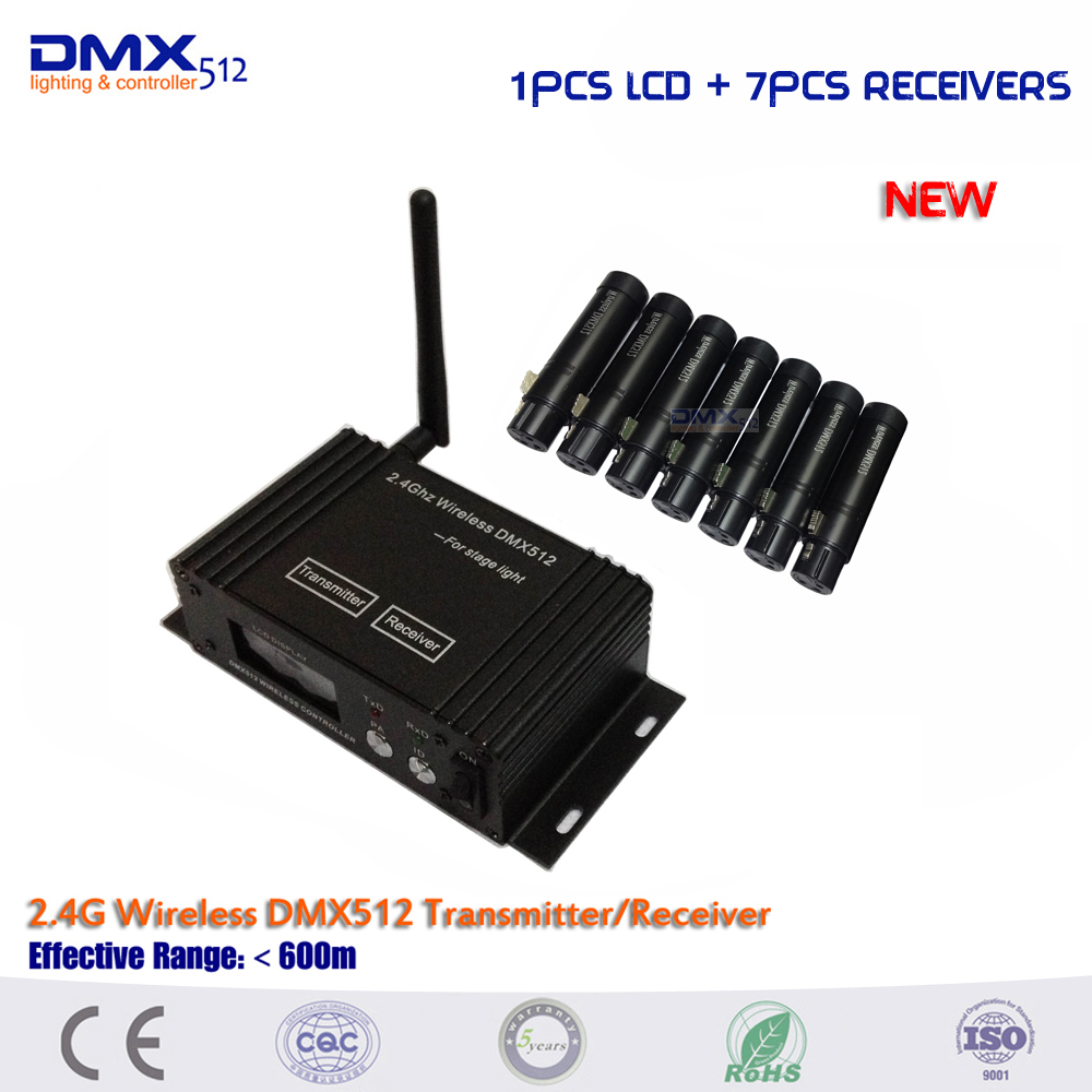 DHL Free shipping china wholesale New 2.4G dmx wireless Transmitter And Receiver for stage light DHL Free shipping china wholesale New 2.4G dmx wireless Transmitter And Receiver for stage light