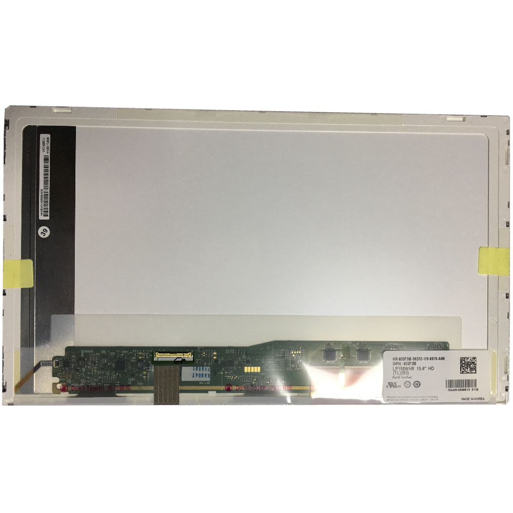 LP156WH8 TLB2 LP156WH8(TL)(B2) LCD SCREEN Panel with Touh ScreenLP156WH8 TLB2 LP156WH8(TL)(B2) LCD SCREEN Panel with Touh Screen